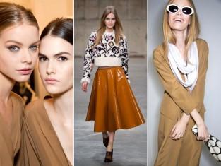 Kolor musztardowy - modowe trendy